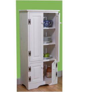 Versatile Wood 4 Door Floor Cabinet, Multiple Colors