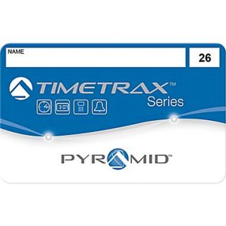 Pyramid TimeTrax Swipe Cards, #26 50, 25 Pack (41303)