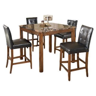 Signature Design by Ashley Thorndike 5 Piece Counter Height Pub Set