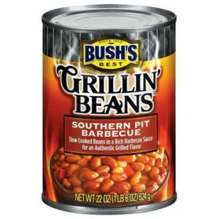 Bushs Best Southern Pit Barbecue Grillin Beans, 22 oz