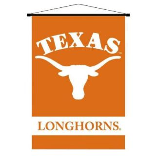 BSI Products NCAA Texas Longhorns Indoor 3 ft. 3 in. x 2 ft. 3 in. Banner Scroll 87034