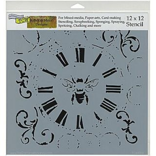 Crafters Workshop Doodling Template, 12 x 12, Bee On Time