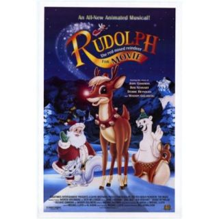 Rudolph the Red Nosed Reindeer The Movie Movie Poster (11 x 17)