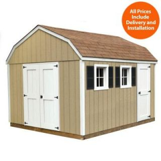 Sheds USA Installed Horizon 10 ft. x 12 ft. Smart Siding Shed T1012H