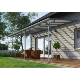 Feria 10 ft. x 20 ft. Patio Cover in Grey