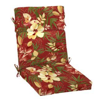 Arden Outdoor 46 in L x 22 in W South Beach Stencil High Back Chair Cushion