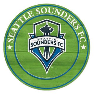 Seattle Sounders FC WinCraft 20 Round Wood Sign