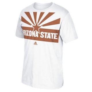 Arizona State Sun Devils adidas Desert Ice All Over State Flag T Shirt   White