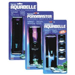Pondmaster 02089 AquaBelle Mini Belle Fountain Head Kit for 80 190 GPH Pumps