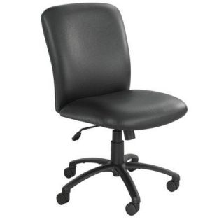3490BV Safco Safco SAF3490 Uber Series Big & Tall Swivel/Tilt High Back Chair, Vinyl, Black
