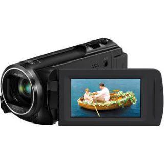 Used Panasonic HC V250 Full HD Camcorder (Black) HC V250K