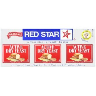 Red Star: Active Dry Yeast, .25 Oz