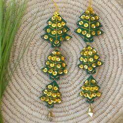 Set of 2 Christmas Tree Ornaments (Thailand)   Shopping