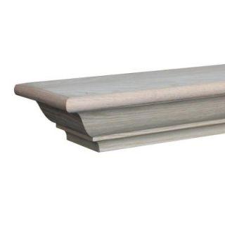 Builder's Choice Richmond 4 ft. x 3 3/4 in. Stain Grade Cap Shelf Mantel MTXRFSS4