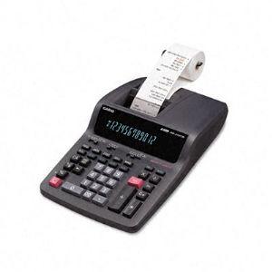 Casio DR 210TM Two Color Desktop Calculator, Black/Red Print, 4.4 Lines/Sec (DR210TM)