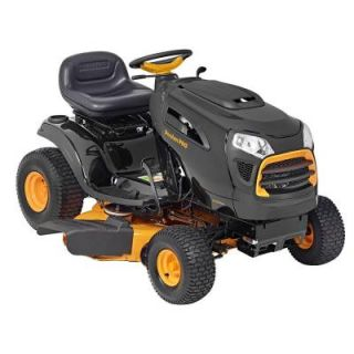 Poulan PRO 42 in. 19 HP Briggs & Stratton Automatic Gas Front Engine Riding Mower   California Compliant 960460078
