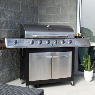 Char Broil Classic 650 6 Burner Gas Grill 65k BTU   Gas Grills