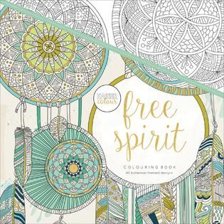KaiserColour Perfect Bound Coloring Book Free Spirit   Home   Crafts