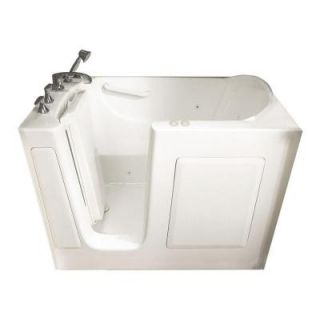 American Standard Gelcoat Standard Series 51 in. x 31 in. Walk In Whirlpool and Air Bath Tub in White 3151.201.CLW