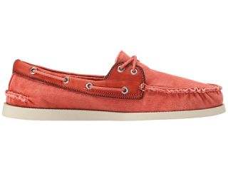 Sperry Top Sider A/O 2 Eye Wedge Canvas Red