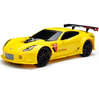1:12 Full Function Chargers Corvette C7R R/C Car, Yellow