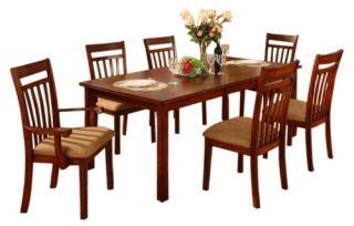 Cheyenne Dark Oak Side Chairs   Set of 2