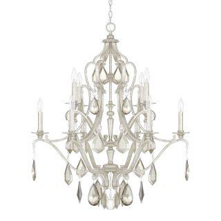 Capital Lighting Blakely 10 Light Crystal Chandelier