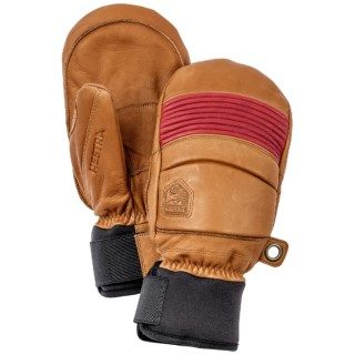 Hestra Fall Line Leather Mittens (For Men and Women) 9225M 66