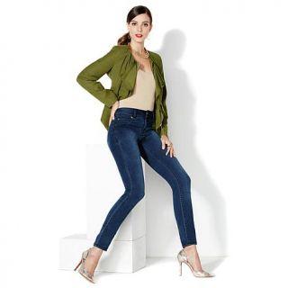 "IMAN Global Chic ""Slip Into Slim"" Curve Appeal Stretch Boot Cut Jean   7802127"