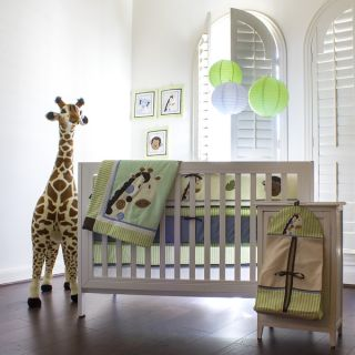 Pam Grace Creations Jaydens Jungle 10 piece Crib Bedding Set