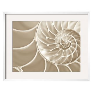White Swirls Framed Wall Art   Wall Art
