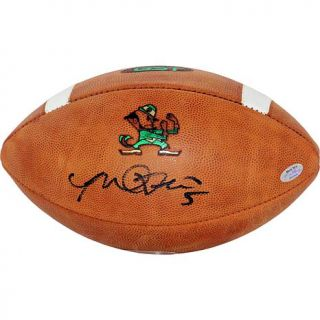 Steiner Sports Manti Te'o Signed Notre Dame Game Model Football   7342391