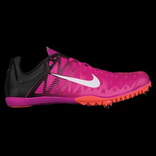 Nike Zoom Maxcat 4   Mens   Track & Field   Shoes   Fire Pink/Black/Bright Mango/White