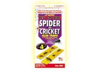 Spider and Cricket Glue Trap 4Pk J.T. Eaton Insect Traps and Bait 844