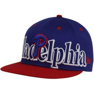 cc758eaa6ed New Era Philadelphia Phillies Royal Blue Red Big City Punch 9FIFTY Snapback  Adjustable Hat