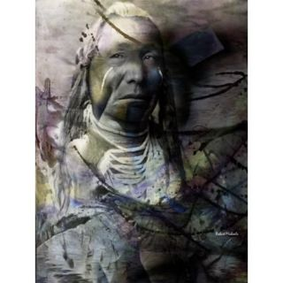 Proud Warrior Poster Print by Robert Michaels (15 x 19)