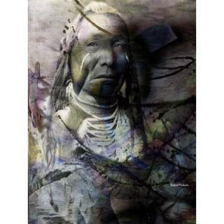 Proud Warrior Poster Print by Robert Michaels (15 x 19)