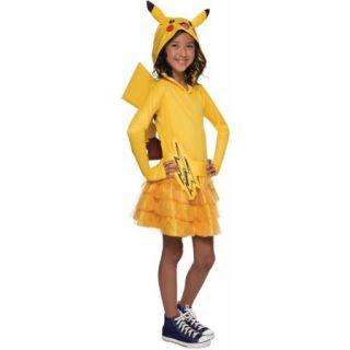 Pokemon Pikachu Hoodie Dress Child Halloween Costume