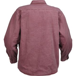 Ironton Flannel-Lined Canvas Shirt, Model# 4176R  Long Sleeve Button Down Shirts