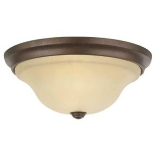 Feiss Vista 2 Light Corinthian Bronze Flushmount FM251CB LA